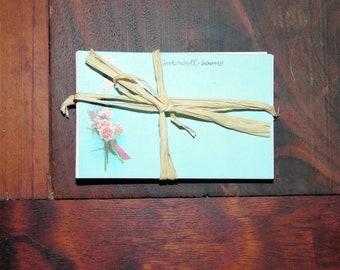 Vintage Florist Insert Cards