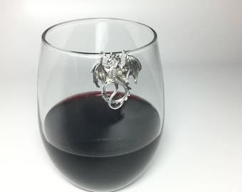 Dragon Wine Glass Marker