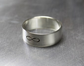 Infinity Ring, Forever Ring, Knot Ring, Best Friend Rings