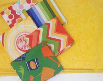 Green Farmgirl Fabric Bundle #8