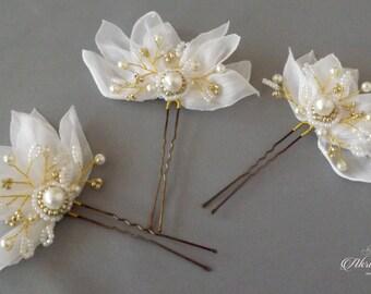 Bridal Hair Pins Wedding Hair Pins Bridal Hair Pieces, Pearl Hair Pins Hair Pins Wedding, Pearl Wedding Hair Pieces Bridal hair pins Crystal