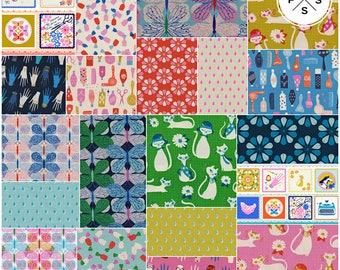 Sarah Watts Beauty Shop Fat Quarter Bundle Precut Cotton Fabric Quilting FQs Cotton + Steel