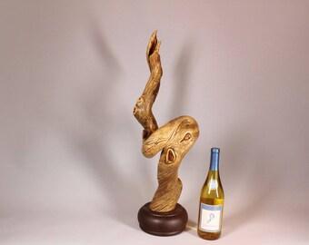 Wood Sculpture, Forest Sculpture , Driftwood Sculpture : Forest Undulation 18001