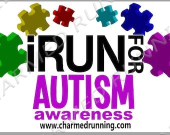 Custom Race Bibs #IRun4 I Run For Personalized Causes INSPIRATION