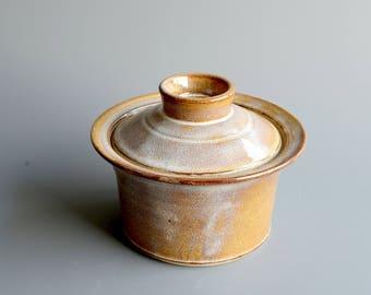Storage jar handthrown