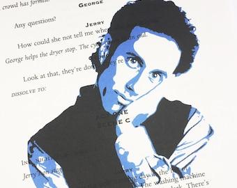 Jerry Seinfeld Seinfeld TV Show Cast Script Print