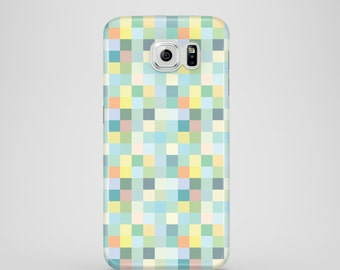 Pastell Pixel Handyhülle / Pixel Samsung Galaxy S7 Hülle, Galaxy S6, S6 Edge, S5, iPhone iPhone 8 X 8 Plus, iPhone 7, 7 Plus, iPhone 6, 6 s