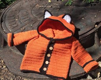 Baby fox hoodie