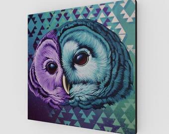 OWL IX / canvas print