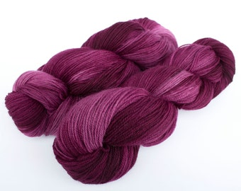 """Very Berry colorway on my """"Comfort"""" Base/ 434 yards of fingering weight"""
