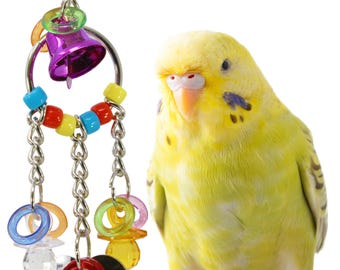 1763 Heart Charm Bird Toy