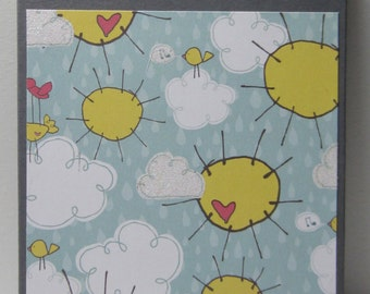 Celebrate Clouds and Sunshine Birthday Book