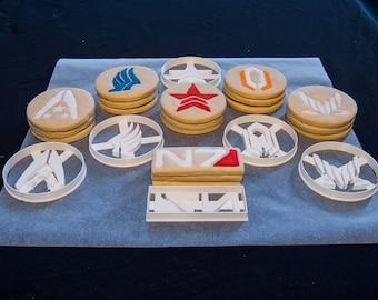 Mass Effect Cookie Cutters