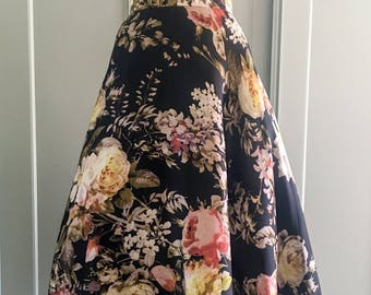 1950s Reproduction hand finished full circle skirt