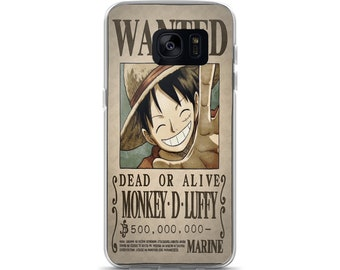 Luffy Wanted Samsung Case
