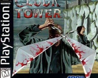 Clock Tower PS1 Great Condition Fast Shipping