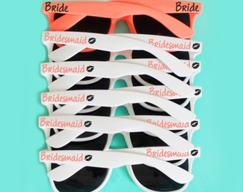 Custom Wedding Sunglasses