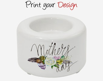 mother day Personalized Sublimation Candle Holder BHP04