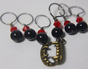 Fangs a Lot Stitch Markers