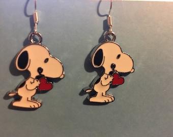 Snoopy Earrings   J55