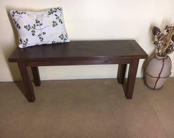 Farmhouse Style Bench | Rustic Bench | Farm Bench | Handmade Bench | Wood Bench