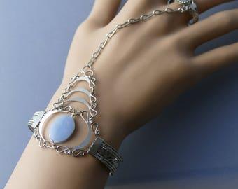 Slave Bracelet Hand Chain Ring Bracelet bracelet hand jewelry finger bracelet hand chain bracelet boho bracelet ring  body jewelry jewelry