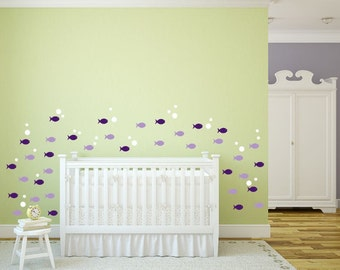School of Fish Wall Decal for Nursery