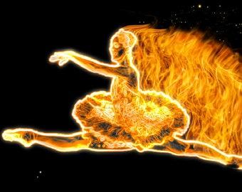 Flame Ballet Photo