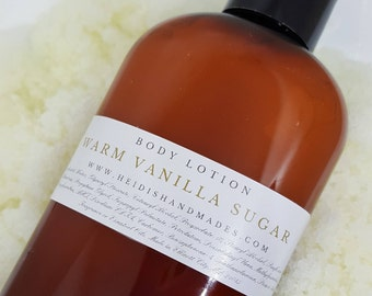 Warm Vanilla Sugar Lotion - Warm Vanilla Sugar Body Lotion - Warm Vanilla Sugar Hand and Body Lotion