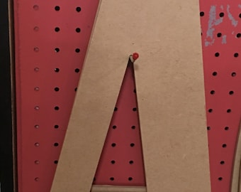 "23"" Unfinished Wood Letter Cutout"