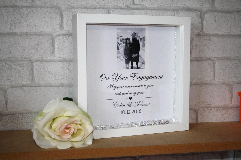 Engagement Frame / Engagement Gift / Personalised Engagement /