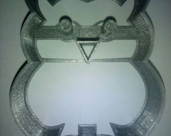 """Cookie cutter cookie """"hibou chouette"""