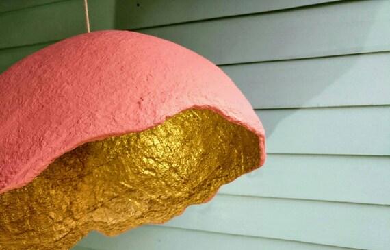 Papier Pappmaché-Lampe Anhänger Lampenschirm aus