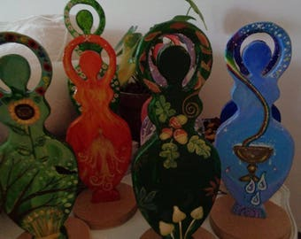 Spiral Goddess, Goddess Gifts, Goddess Figure, Mother Earth, Gaia, Goddess Pagan