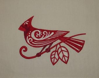 Cardinal Towel