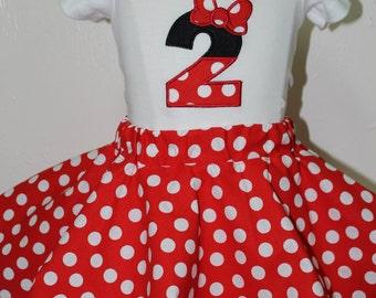 Minnie Mouse, Disney, birthday, 2nd birthday, disney shirt, Disney World, t shirt, Minnie Mouse party, personalized, Minnie Mouse ears