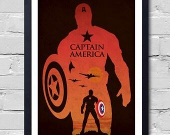 Avengers Captain America Poster