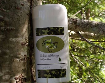 Natural deodorant to Quebec balsam fir