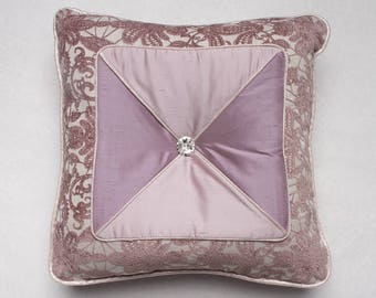 Sweet Dalliance Square Toss Pillow