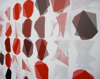 "Math Art Digital Print - ""blackjack caRds"""