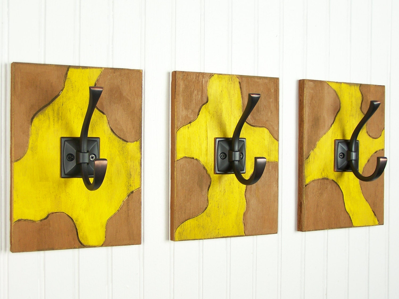Giraffe Wall Hooks Giraffe Kitchen Decor Kitchen Hooks Giraffe