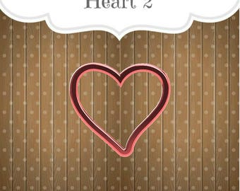 Heart 2 Cookie Cutter