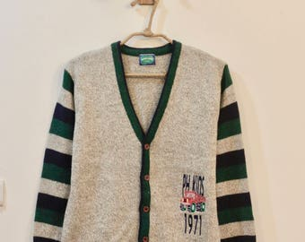 Vintage Green kid's Sweater