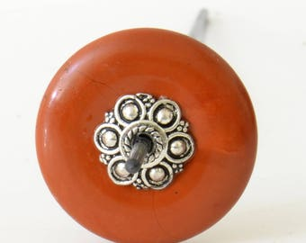 Small Support Spindle - Tahkli Style - Gemstone Spindle