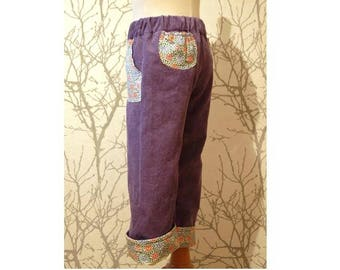 Made to order: Girls pants with or without wind proof lining