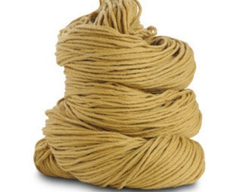 Organic Cotton Yarn 150 Yards, Maize