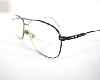 Vintage 1990's Safilo Elasta Aviator Eyeglasses