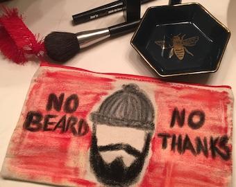 Beard makeup bag