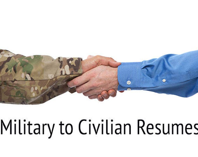 Military to Civilian RESUME BUNDLE (Resume | Translation Sheet | Cover Letter | Reference Sheet | Thank You Letter to Interviews)!