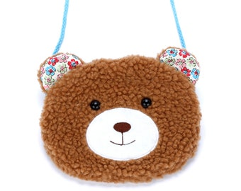 Little Bear Purse - Brown